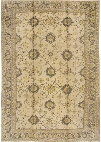 Antique Oushak Rug, 12' X 18'