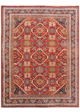 Antique Mahal Rug, 9X12