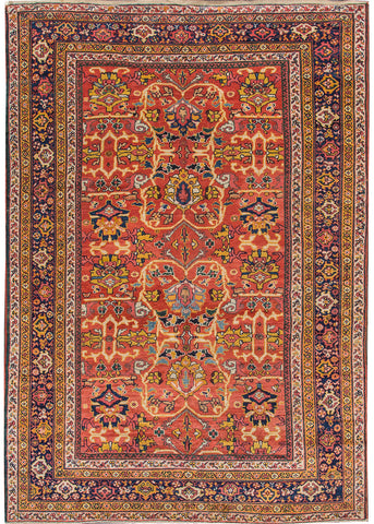Antique Sultanabad Rug, 7X10