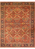 Antique Mahal Rug, 9' X 12'