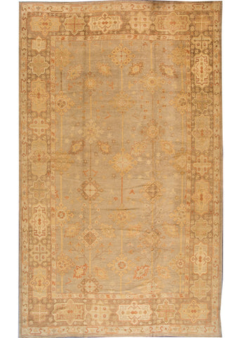 Modern Turkish Oushak Rug, 12X21