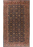 Antique Sultanabad Rug, 12' X 21'