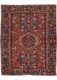 Antique Heriz Rug, 5' X 6'
