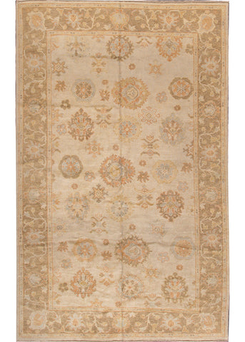 Turkish Oushak Rug, 6X10