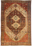 Antique Bakhtiari Rug, 14' X 20'
