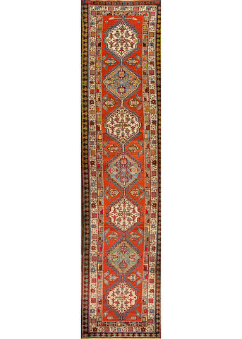 Antique Serab Rug, 4X18