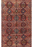 Antique Mahal Rug, 7' X 10'