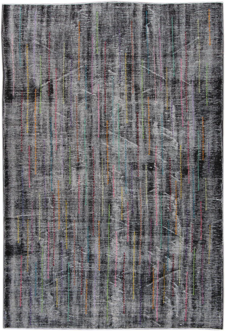 Modern Contemporary Rug, 6X9