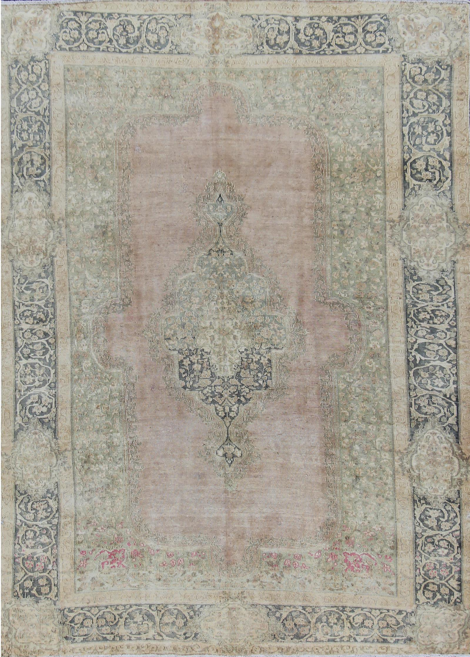 Antique Tabriz Rug, 7X10