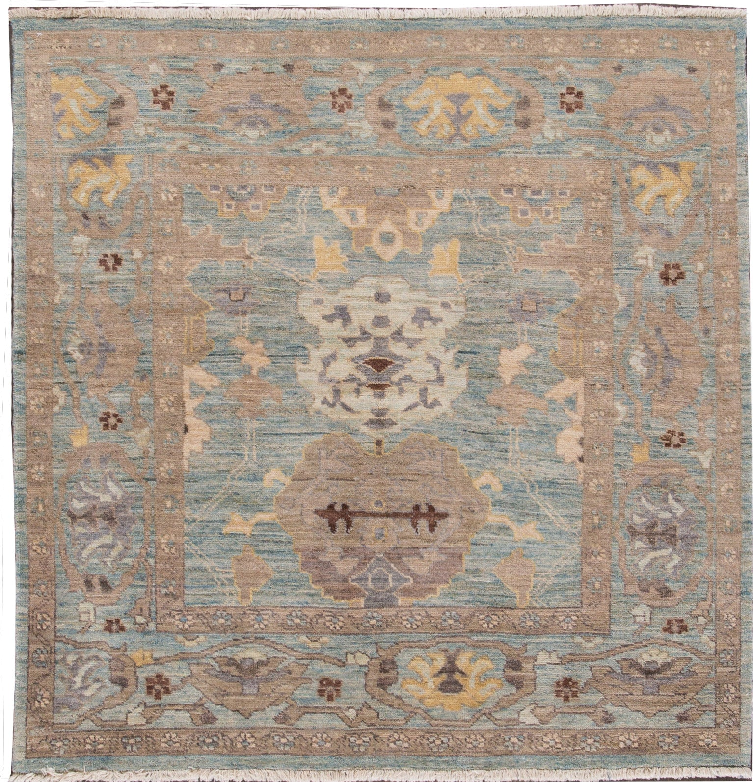 Sultanabad Rug, 5' X 5'