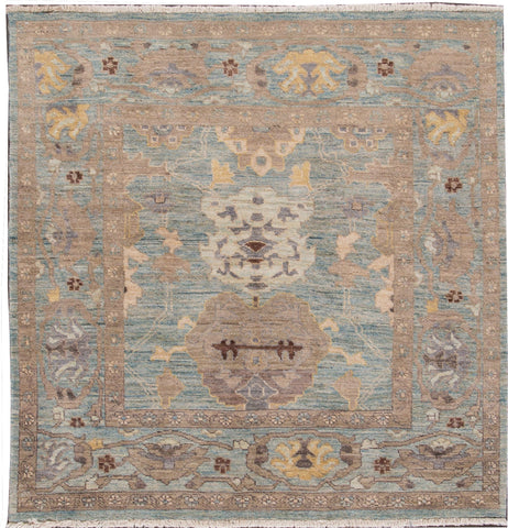 Sultanabad Rug, 5X5