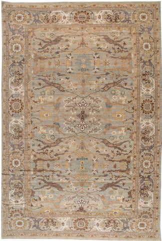 Sultanabad Rug, 14' X 21'