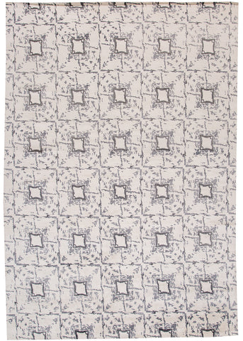 Modern Contemporary Rug, 10X14
