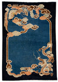 Peking Art Deco Rug, 7X9