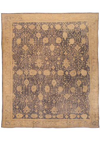 Antique Oushak Rug, 13' X 16'
