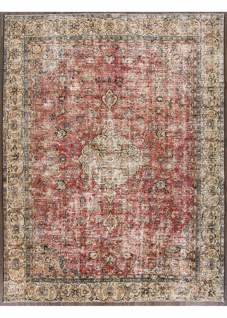 Antique Tabriz Rug, 8X12