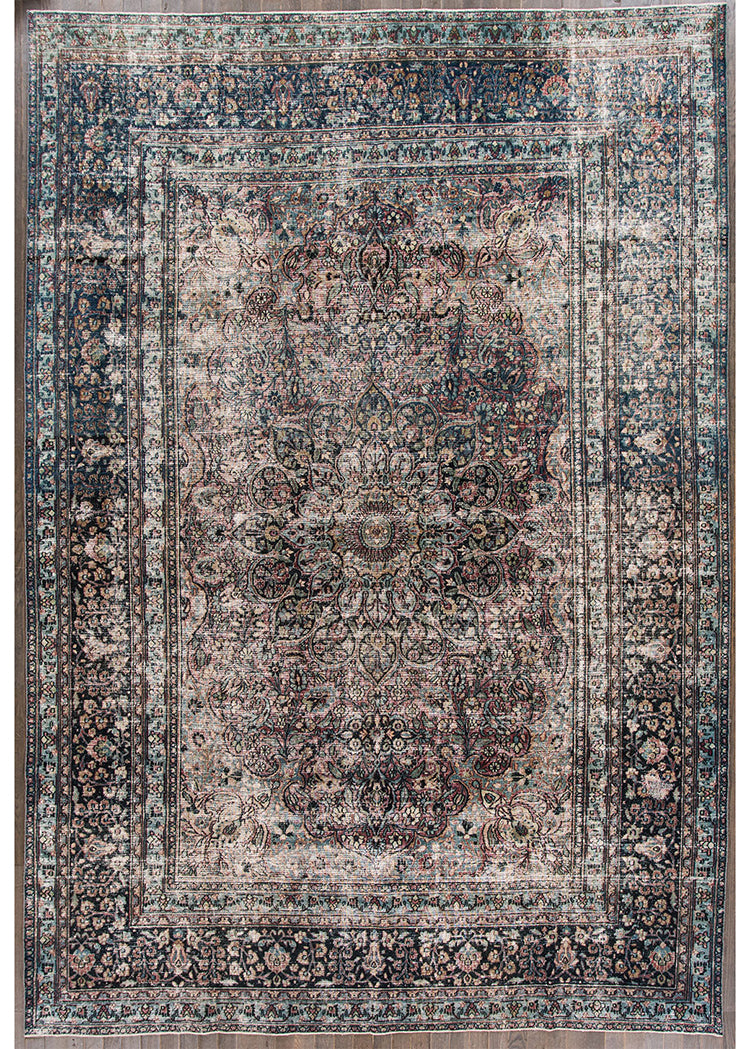 Antique Distressed Mashad Rug, 10X14
