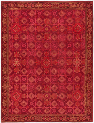 Contemporary Nepalese Rug, 9X11