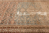Antique Persian Distressed Gallery Rug, 6X15