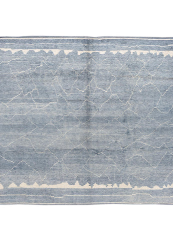 21st Century Modern Moroccan-style Rug, 9' x 9'