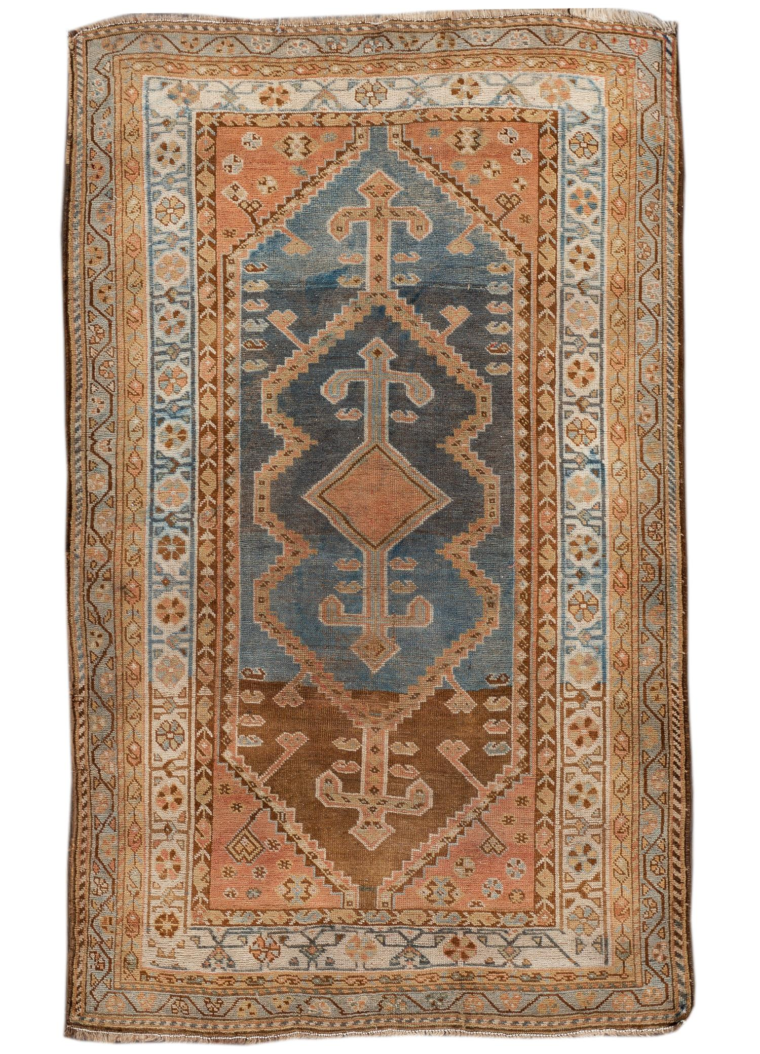 Antique Afshar Rug,  5' X 8'