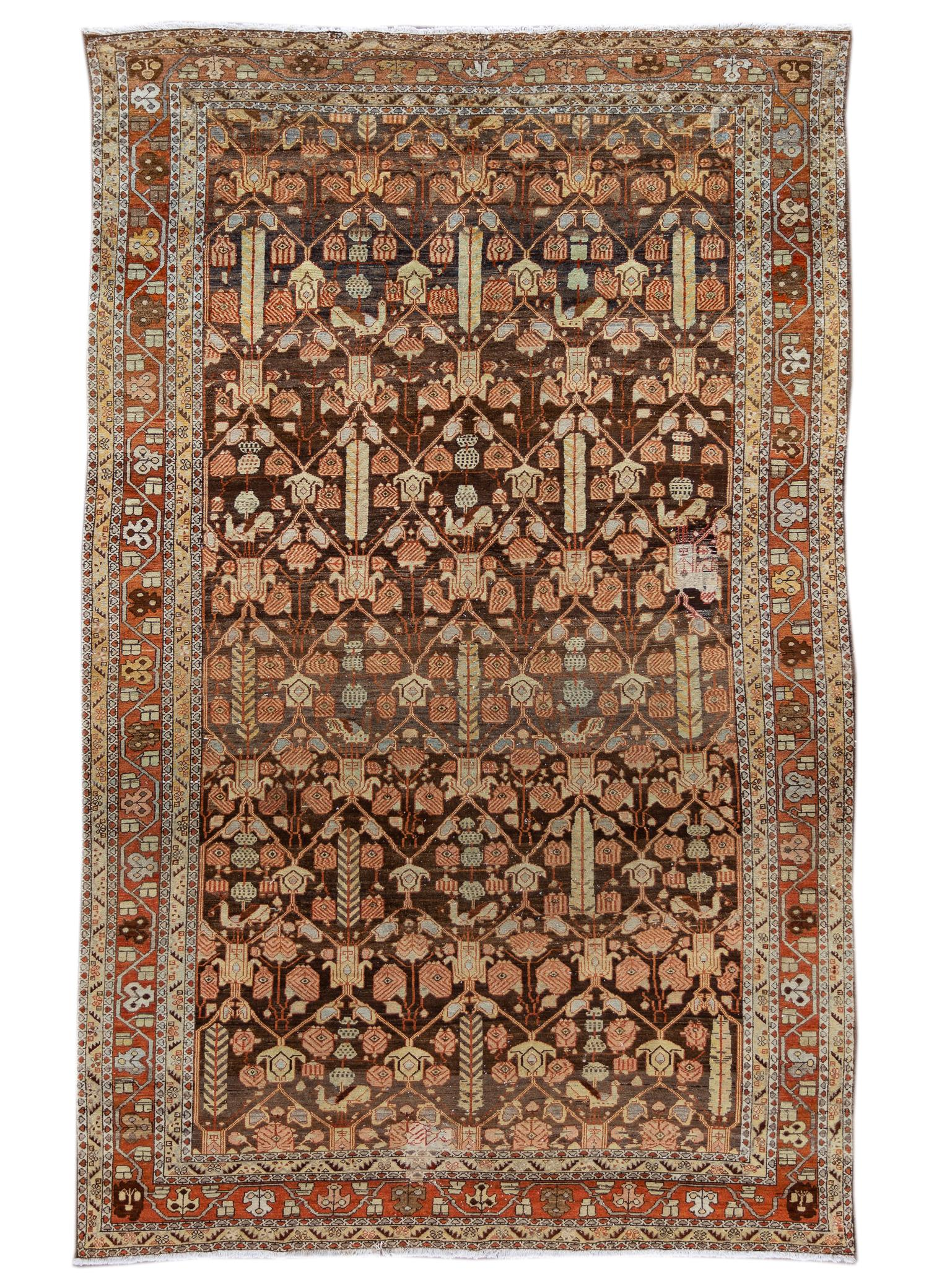 Antique Malayer Rug, #10235253, 8' X 12'