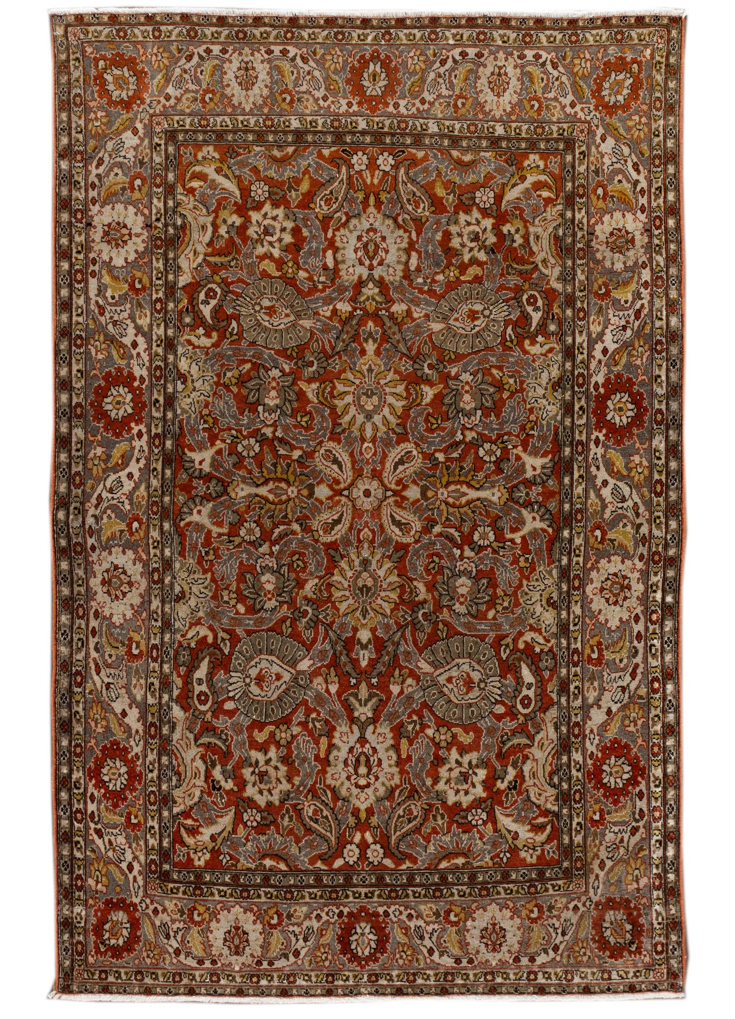 Antique Malayer Rug, #10235256, 4X7