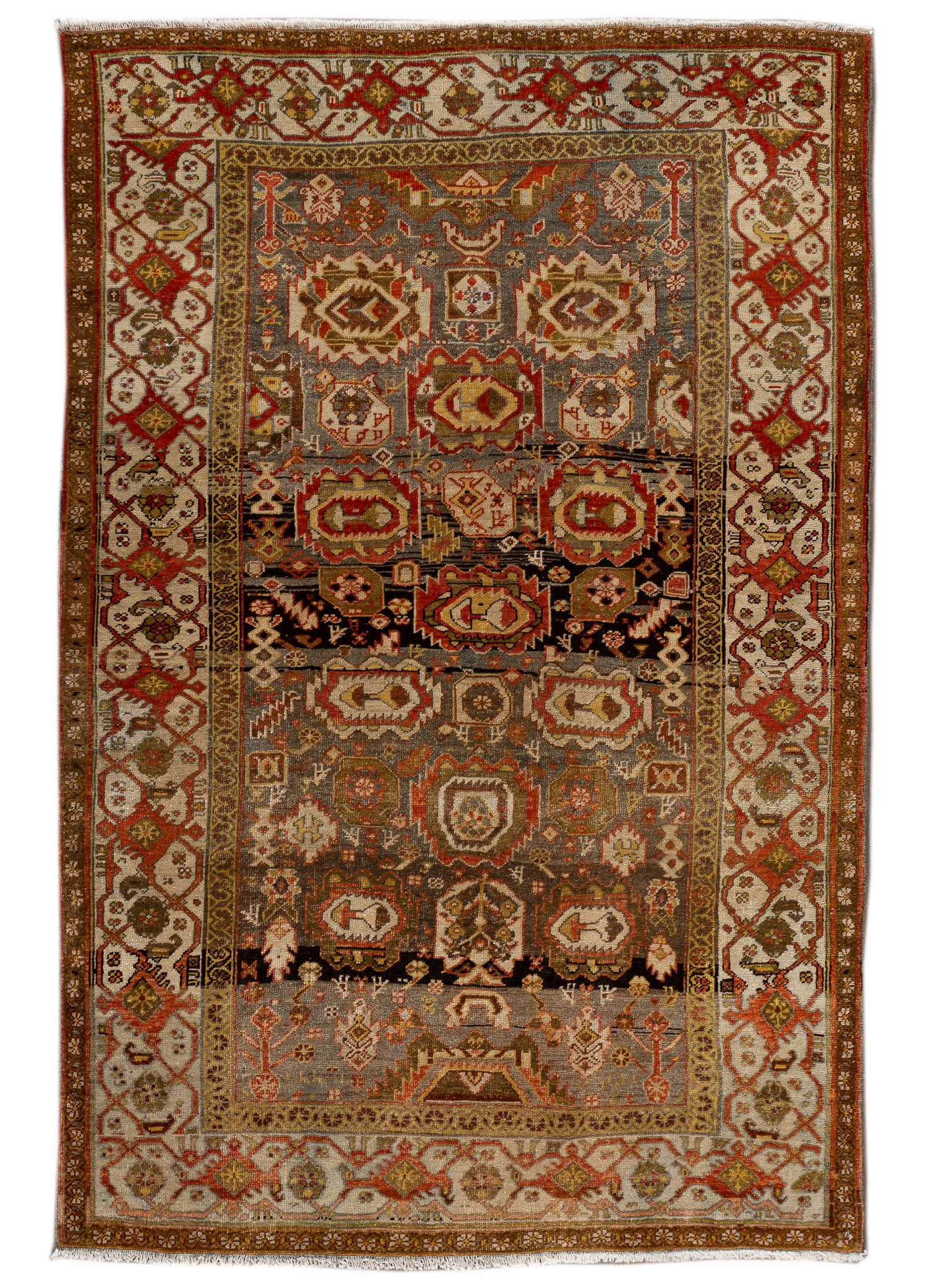 Antique Bidjar Rug, #10235257, 4X7