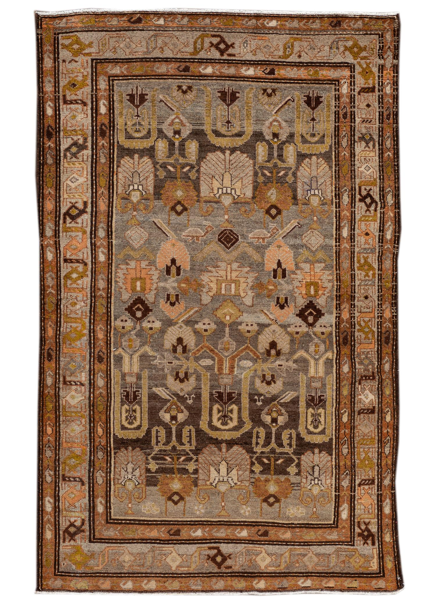 Antique Malayer Rug, #10235259, 4' x 7'
