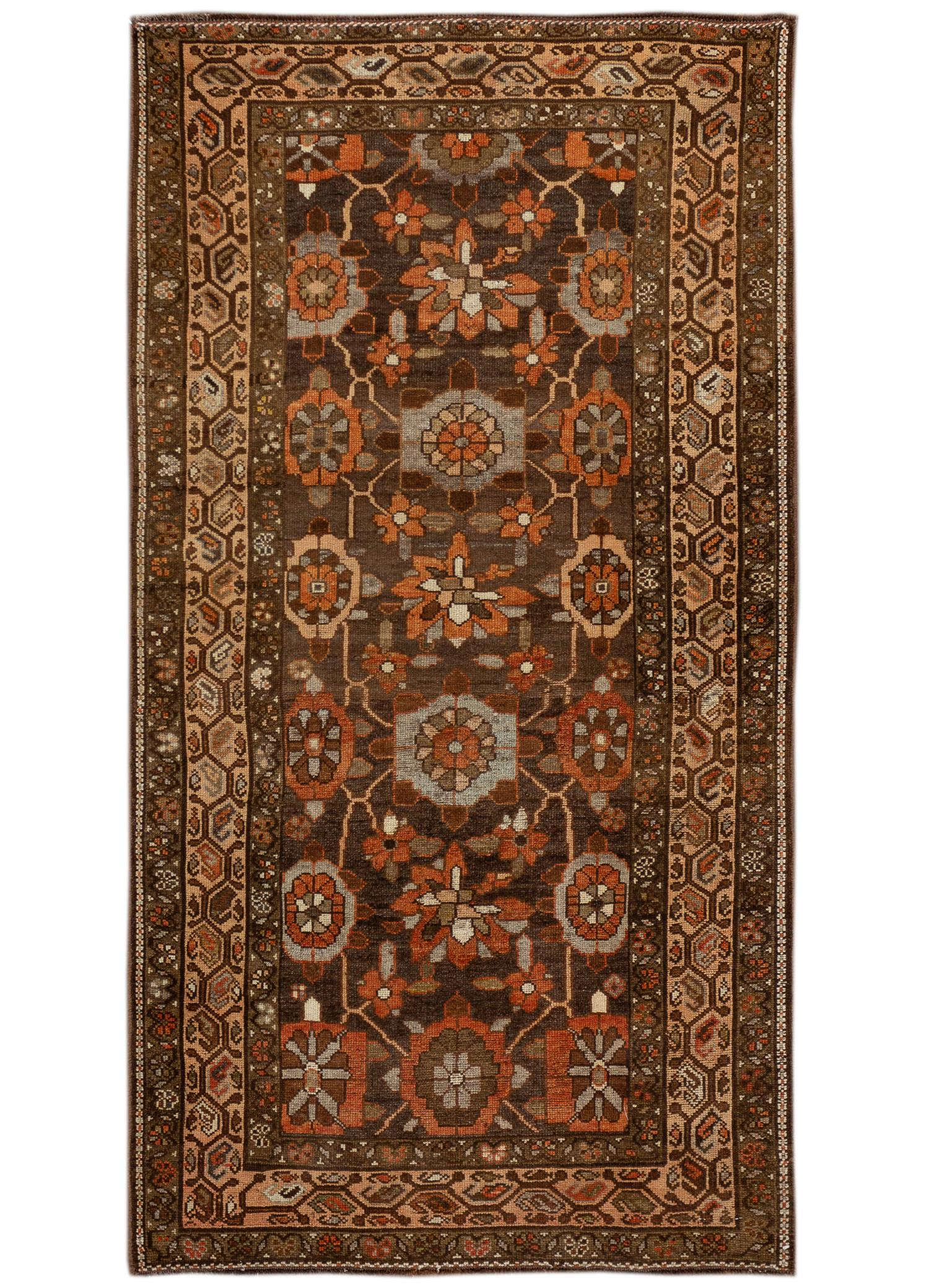 Antique Kurd Rug, 4' x 7'