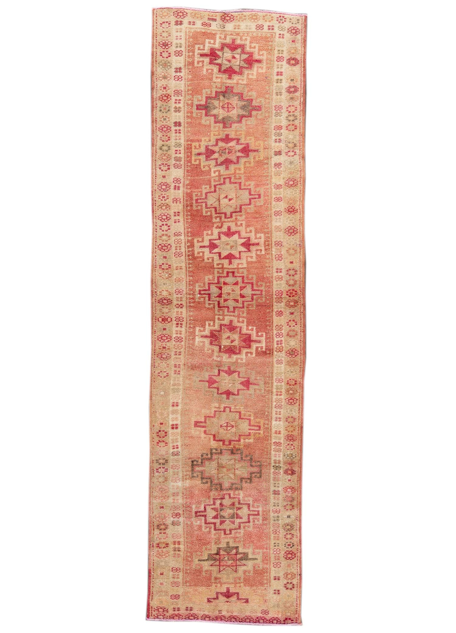 Anatolian Turkish RUnner Rug 3' x 11'
