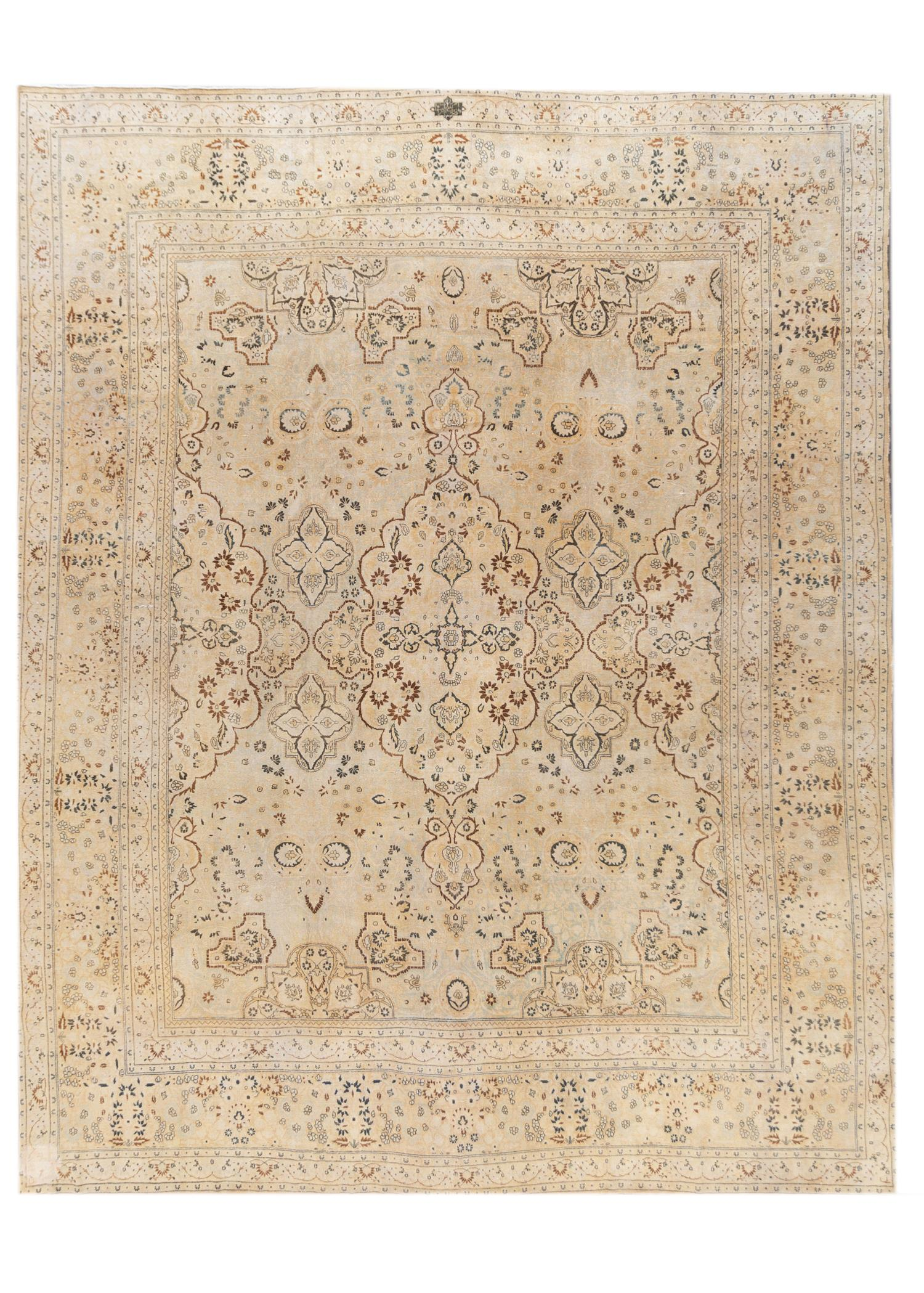 20th Century Antique Tabriz Rug, 13X16