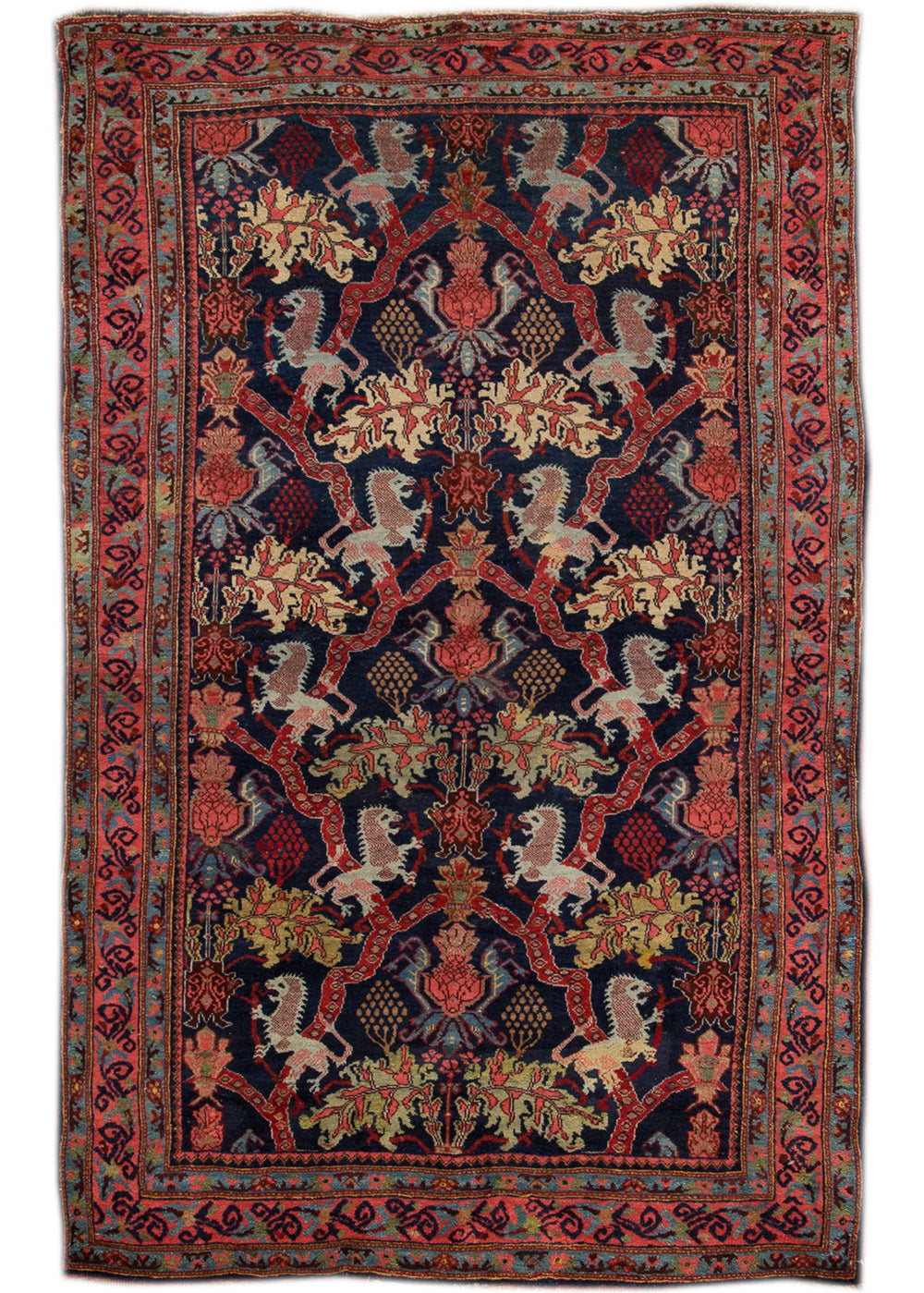 Antique Bidjar Rug, 4X7