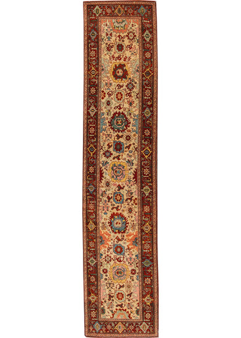 Vintage Turkish Rug, 3X13