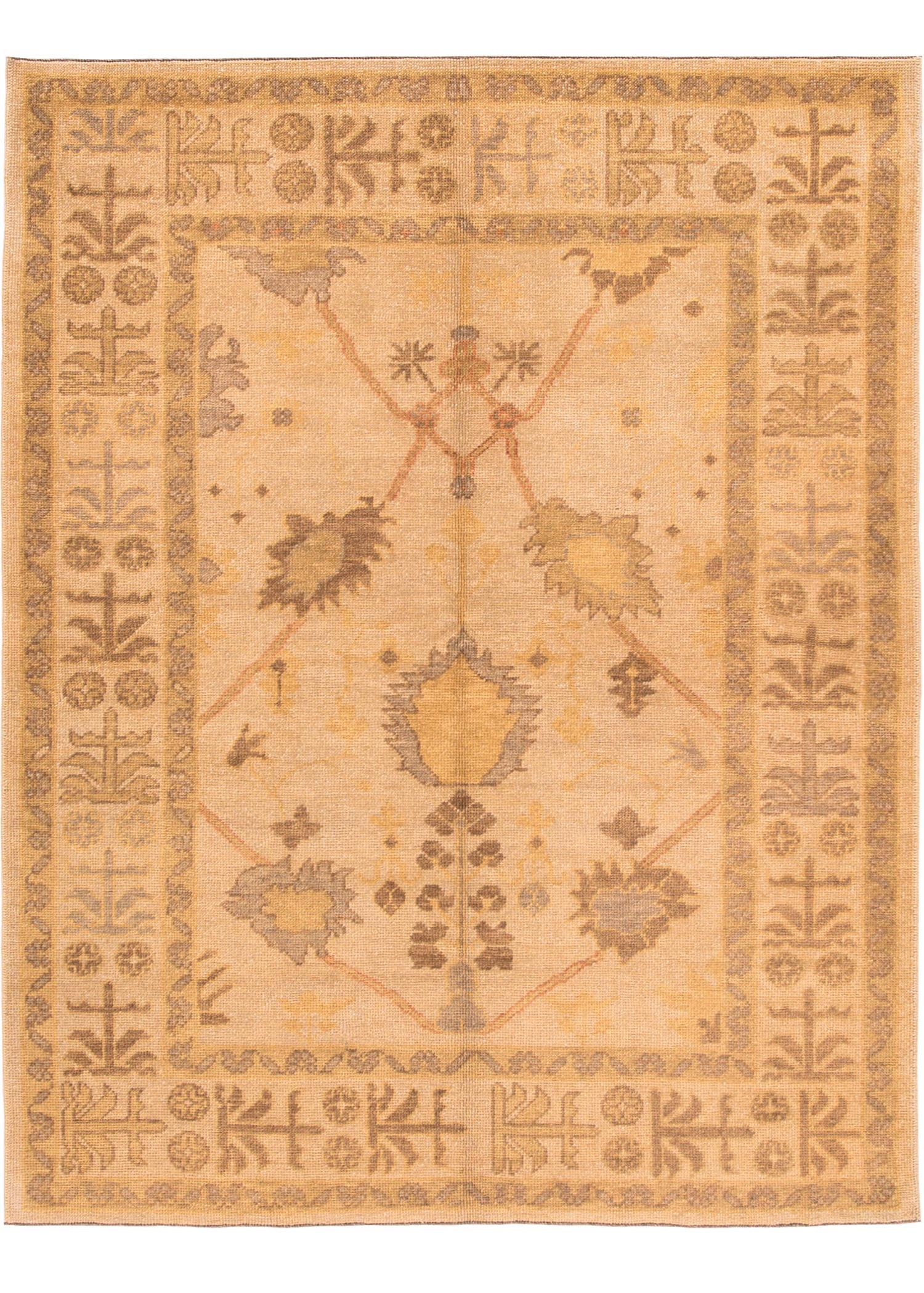 Modern Turkish Rug, 6' X 8'
