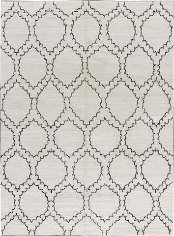 Modern Contemporary Rug, 9X13