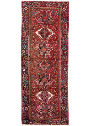 Antique Persian Rug, 5X12