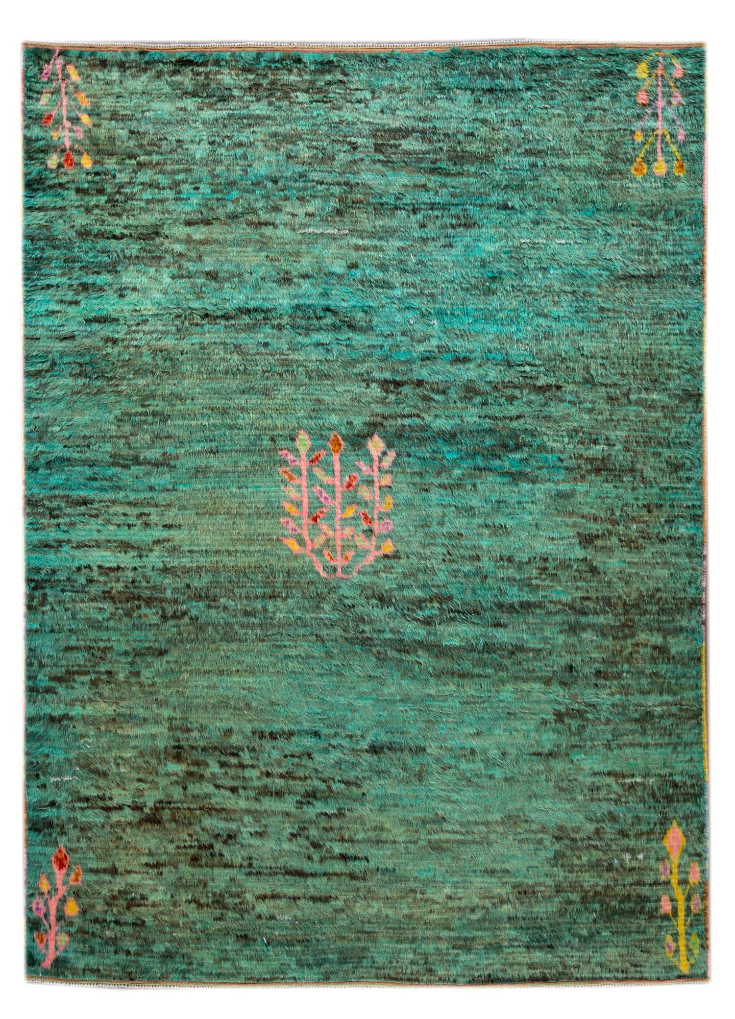 21st Century Modern Moroccan-style Rug, 8' x 12'