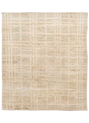21st Century Modern Moroccan-style Rug, 9' x 10'