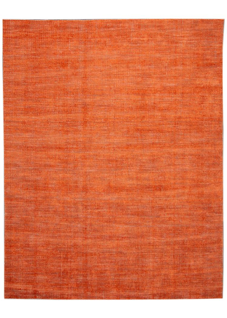21st Century Contemporary Modern Groove Indian Wool Rug