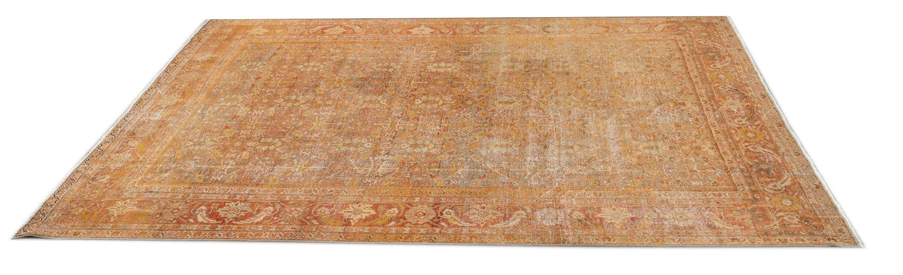 Antique Sultanabad Rug, #10235245, 9X11