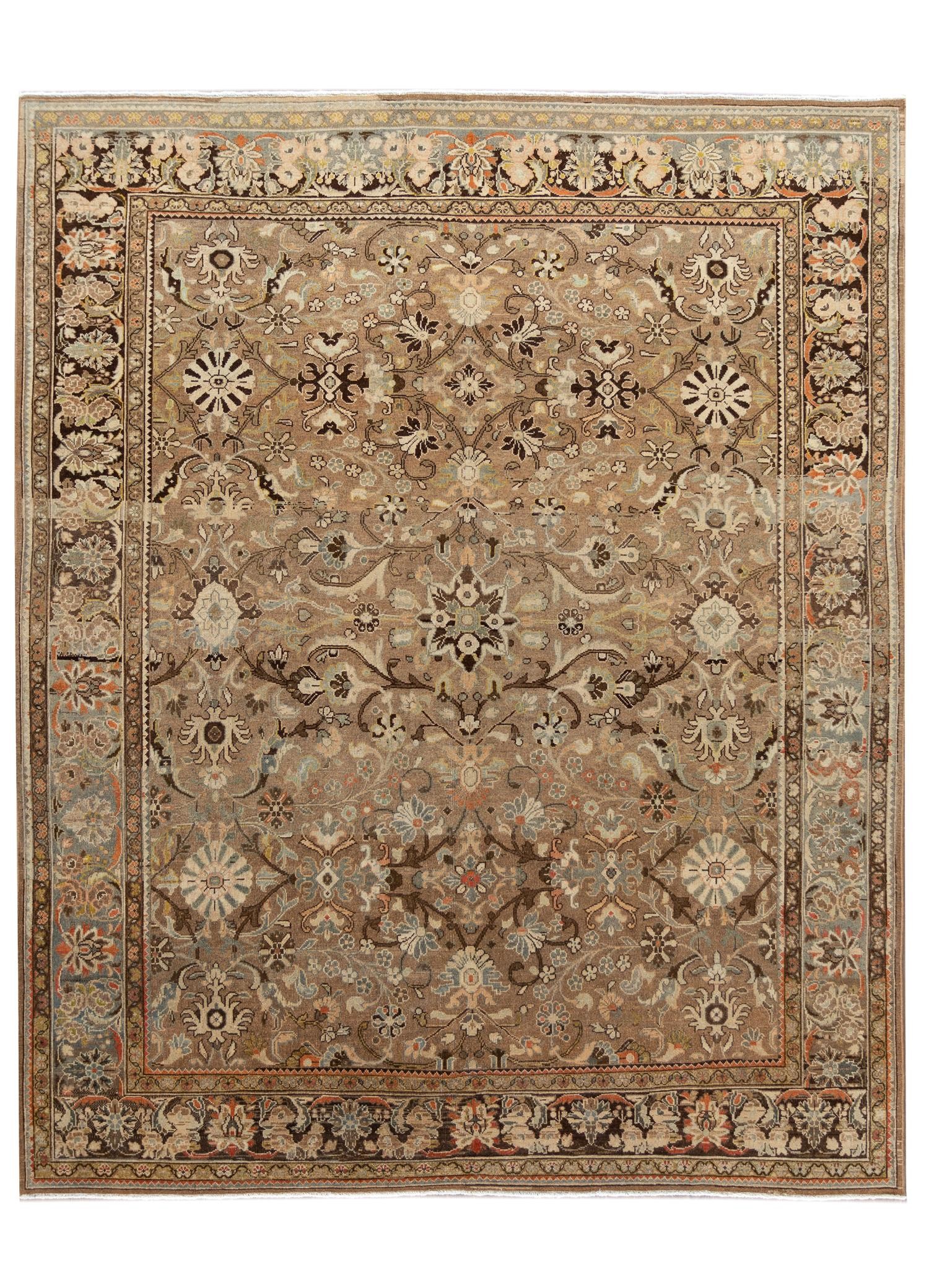 Antique Sultanabad Rug, #10235246, 9X11