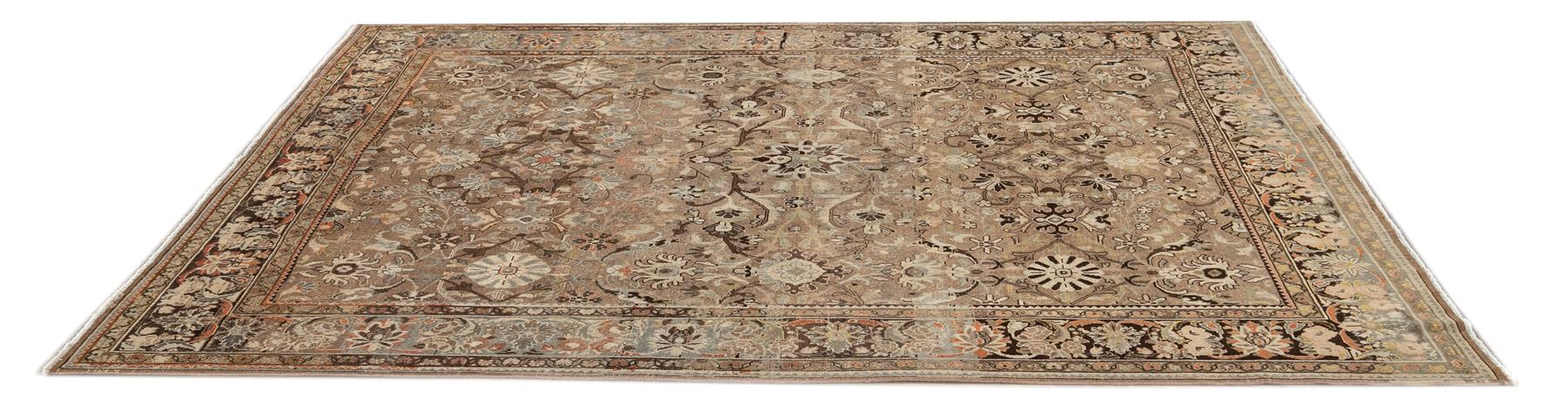 Antique Sultanabad Rug,  9' x 11'