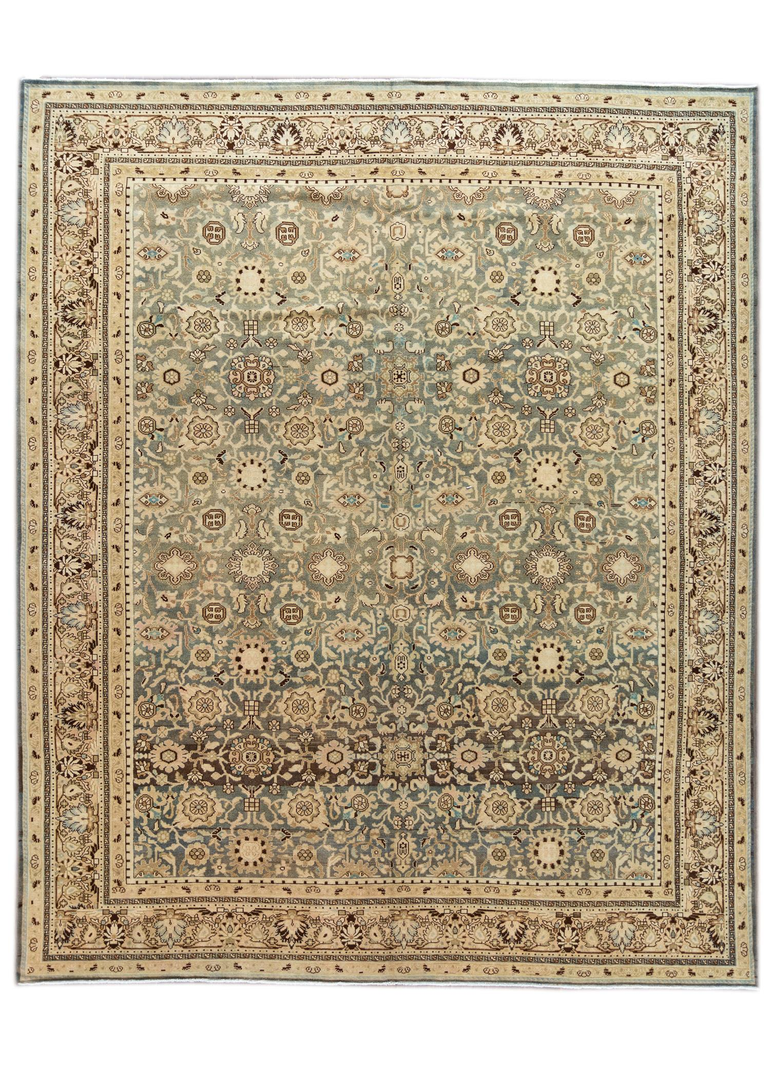 Antique Malayer Rug, 11' x 14'