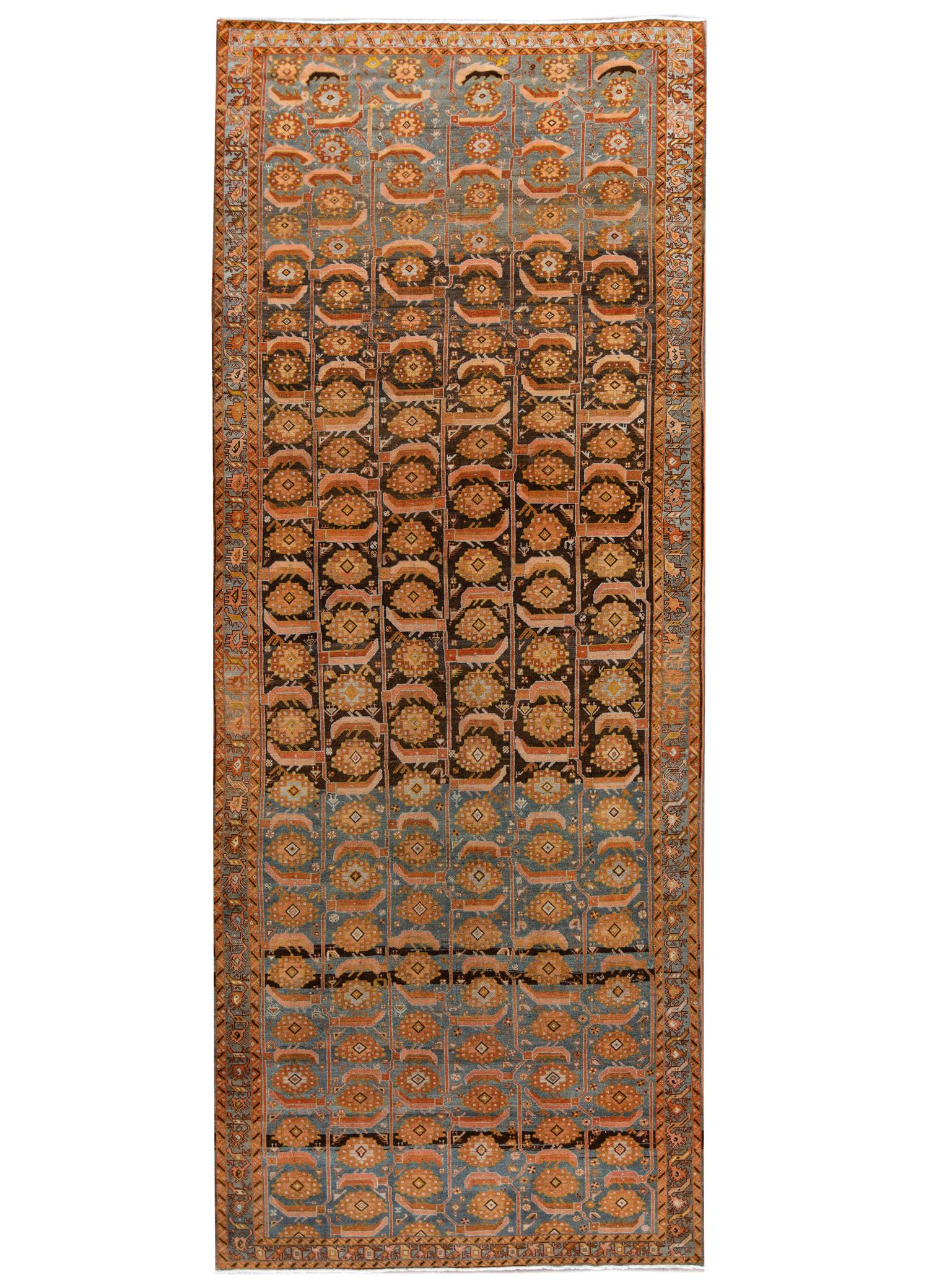 Antique Malayer Rug, 7' x 17'