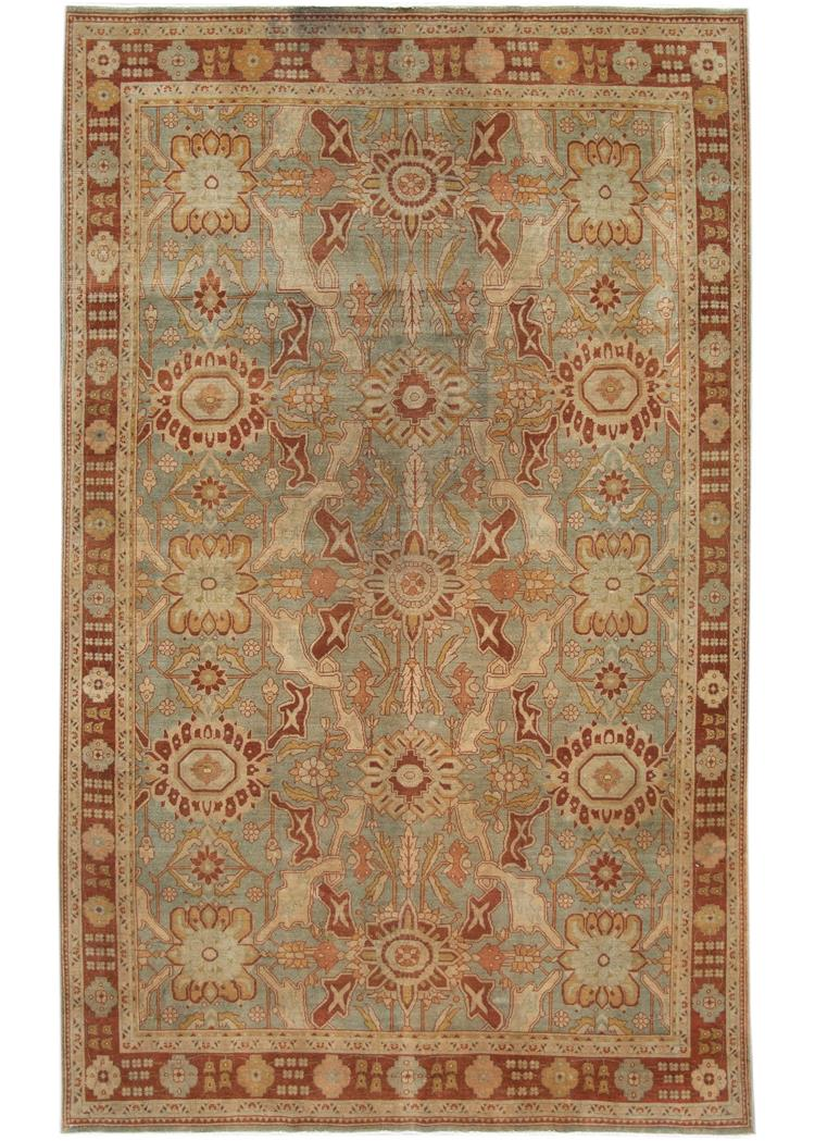 Antique Early 20th Century Malayer Rug 6' x 11'