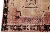 Vintage Turkish Anatolian Runner Rug, 4X13