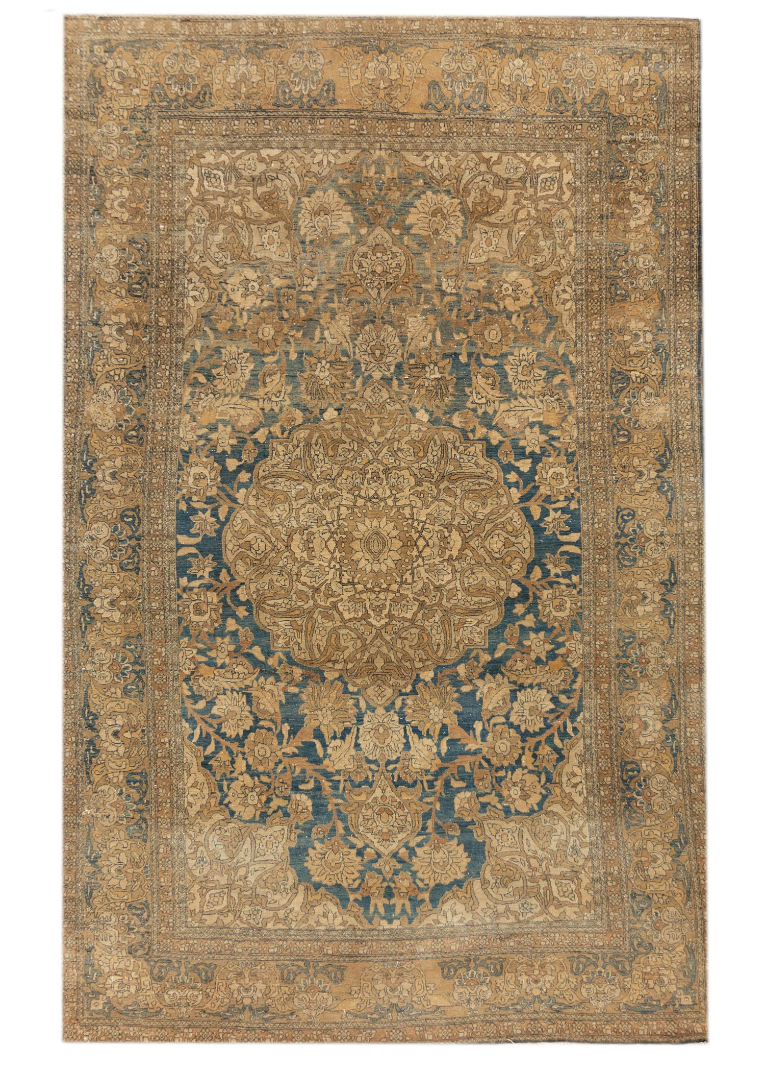 20th Century Antique Tabriz Rug, 9X14