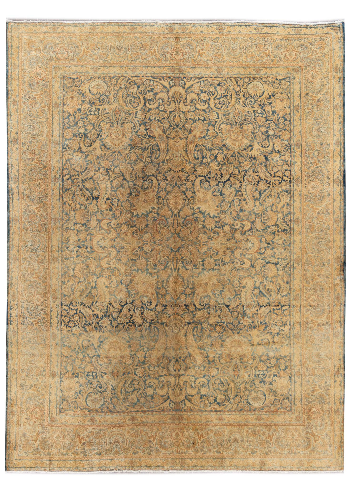 Early 20th Century Antique Kerman Rug, 9x11