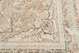 Early 20th Century Antique Heriz Wool Rug 9' x 12'
